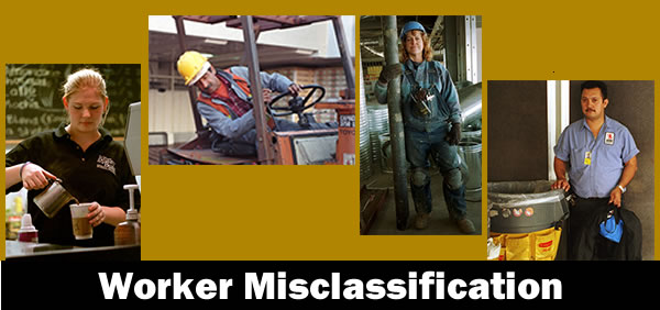 Worker misclassification